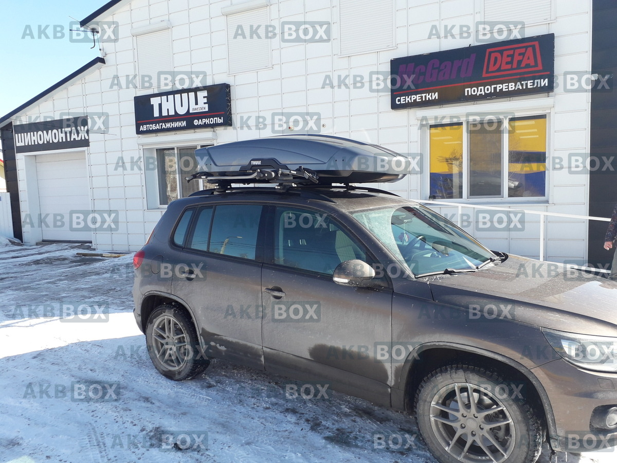 Бокс на крышу Thule Motion XT XL 6298T фото в жизни 9