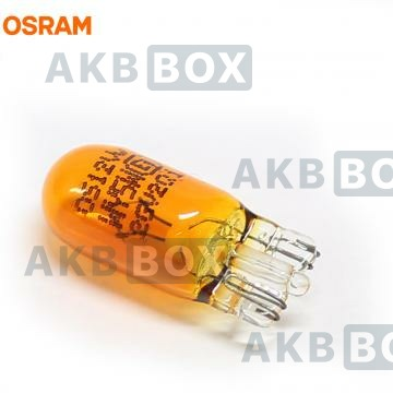 Автолампа Osram WY5W (W2.1*9.5d) Yellow 2827